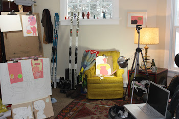 My studio in Jan 2011