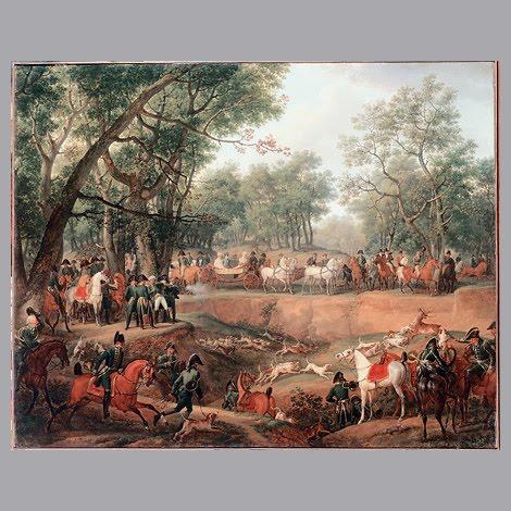 Bonjour a tous napoleon a la chasse par carle vernet for Carpe vente