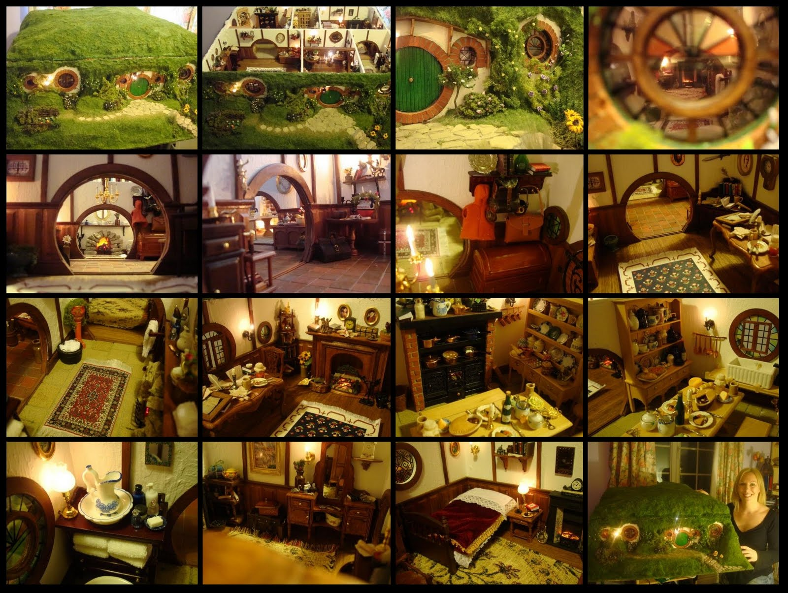 1000 images about it 39 s a small small world on pinterest for Hobbit house furniture