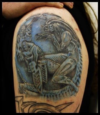 ALIEN TATTOO OF THE DAY