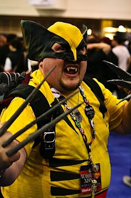 fail cosplay  Wolverine