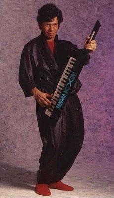 Chick Corea con un keytar Yamaha Kx5