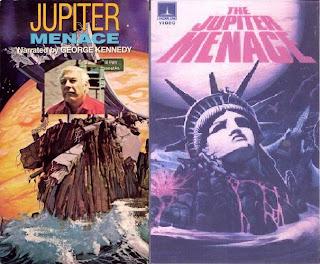 Portadas de los vídeos de La Amenaza de Júpiter