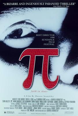 Cartel de la película Pi de Darren Aronofsky
