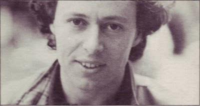 Joël Fajerman retratado en la contraportada del álbum Azimut de 1981