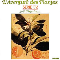 Portada del álbum de la banda sonora de L'Aventure des Plantes obra de Joël Fajerman