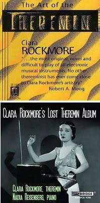 Los dos únicos álbumes de theremin de Clara Rockmore