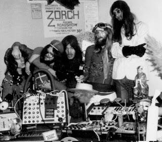 Foto promocional de Zorch en 1974 realizada por Hektor Krome