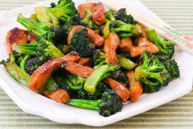 Stir-Fry with Pork and Broccoli