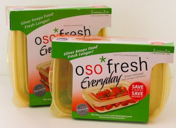 Oso Fresh Fresher Food Containers