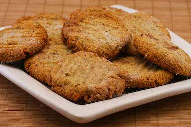 Sugar-Free Gluten-Free Almond Cookies