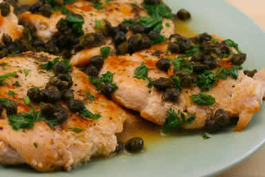 Kalyn's Kitchen: Chicken Piccata Recipe with Fried Capers