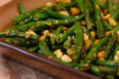 Stir-Fried Green Beans with Lemon, Parmesan, and Pine Nuts (Low-Carb ...