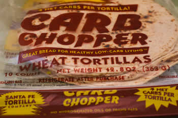 Carb Chopper Whole Wheat Tortillas