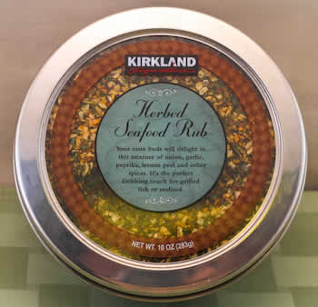 Kirkland Seafood Rub