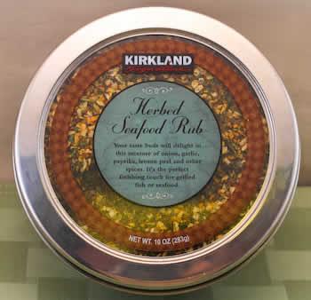 Kirkland Seafood Rub