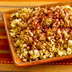 "Cauliflower Rice"" With Fried Onions And Sumac Recipe — Dishmaps"