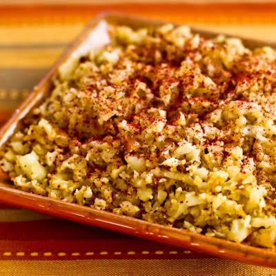 ... Kitchen®: Low-Carb Cauliflower Rice with Fried Onions and Sumac