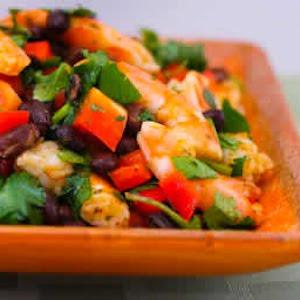 Shrimp and Black Bean Salad