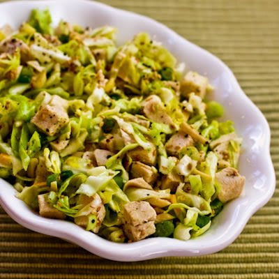 Asian Salad with Chicken and Cabbage
