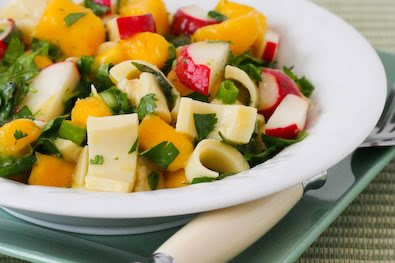 Mango Salad with Hearts of Palm