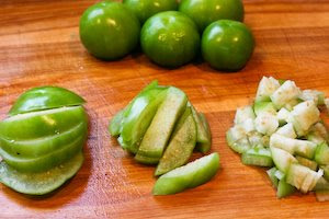 Tomatillo and Black Bean Salsa Recipe with Avocado, Lime, and Cilantro ...