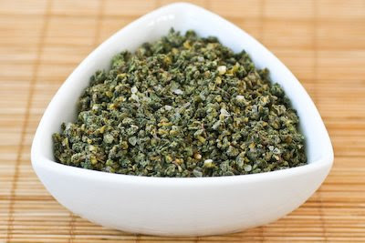 Dried Herb Blend with Sage, Rosemary, and Garlic found on KalynsKitchen.com