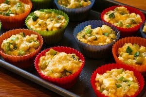Gluten-Free Cottage Cheese and Egg Breakfast Muffins with Zucchini ...