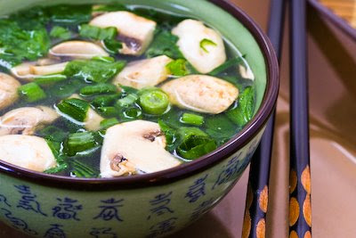 ... ®: Healing Asian Soup with Ginger, served with a Big Hug for Barbara