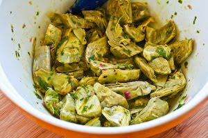 Warm Or Cold Salad Recipe With Artichoke Hearts, Roasted ...