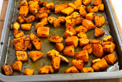 ... Recipe for Spicy Roasted Butternut Squash with Smoked Sweet Paprika