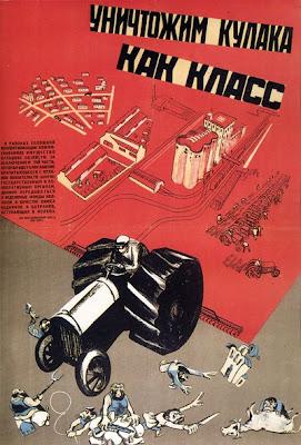 Уничтожим кулака как класс,  Кукрыниксы, 1930