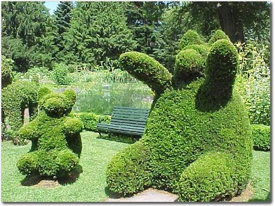 Interesting Places From Around The World Green Animals Topiary Garden
