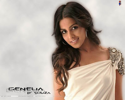 genelia d souza wallpapers. Genelia D#39; Souza Wallpaper 2