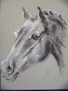 L 39 art autour du cheval - Tete de cheval dessin ...