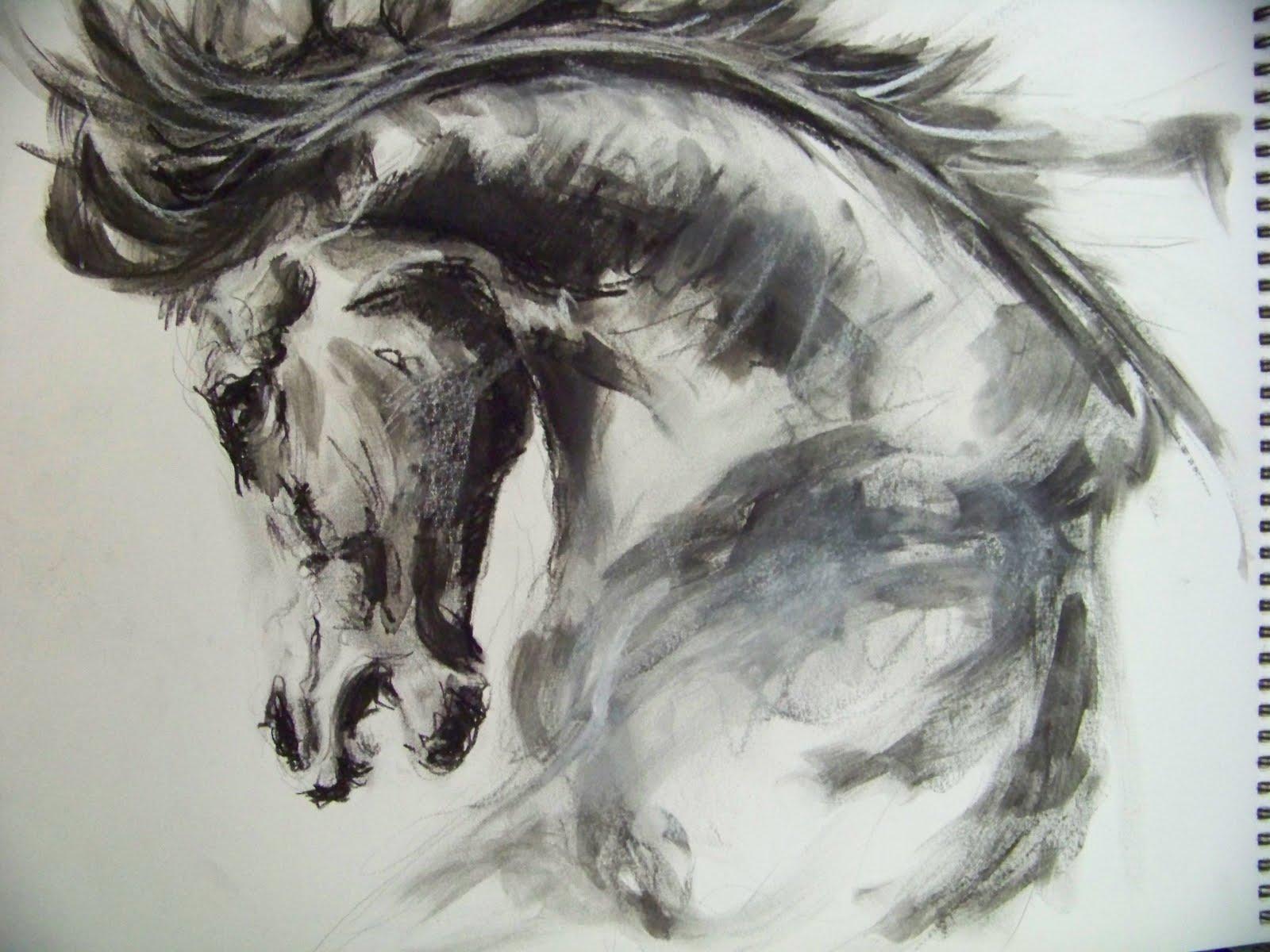 L 39 art autour du cheval - Dessin tete de cheval ...