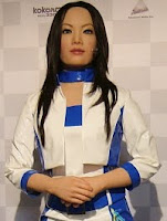 Its humanoid robot actroid in 2003 at the international robot