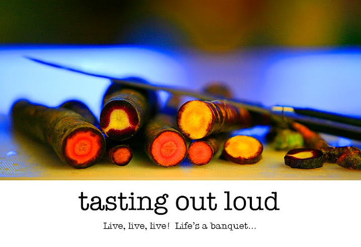tasting out loud