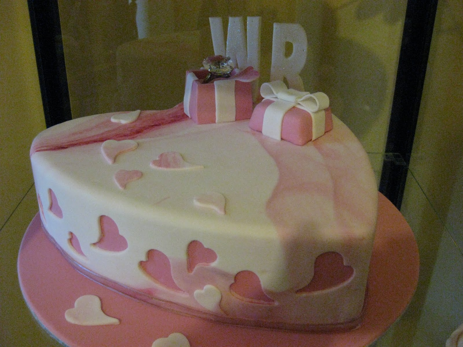 heart shape cake and more Becs Table