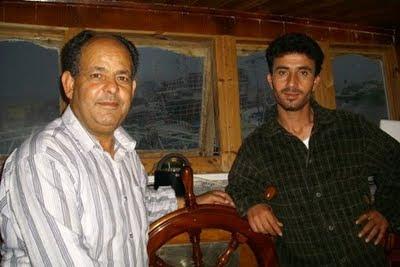 Il capitano Zenzeri e l'armatore Nouira