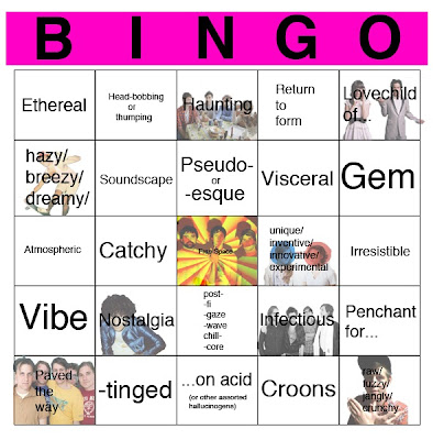 Music Review Cliché Bingo