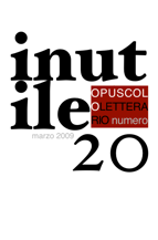  Inutile - opuscolo letterario 