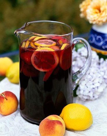 How To Make Sangria Berry Sangria Recipe