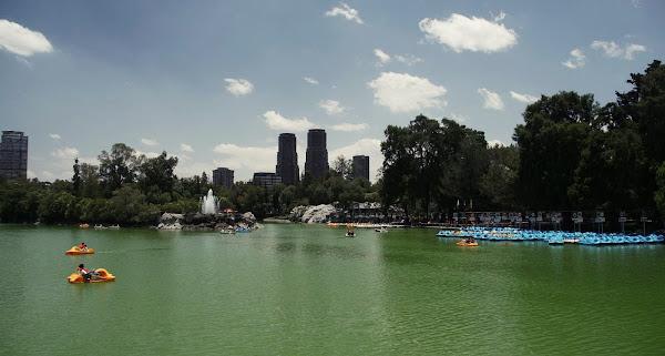 Meksiko mieste esantis Chapultepec parkas