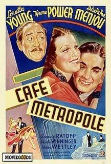 Кафе Метрополь / Caf&#233 Metropole (Эдвард Х. Гриффит / Edward H. Griffith) [1937 г., Романтическая комедия, DVD5]