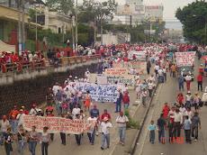 Marcha Primero de Mayo 2008