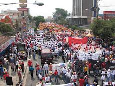Multitudinaria Marcha por el Día Internacional del Trabajo