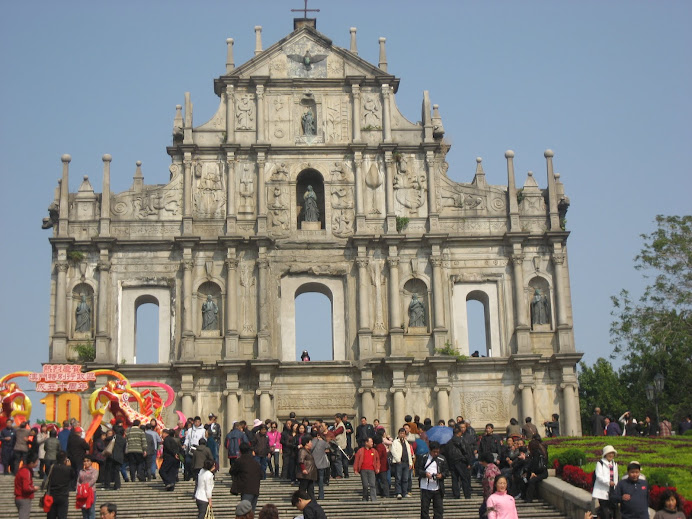 ~ Ruins of St Paul, Macau ~