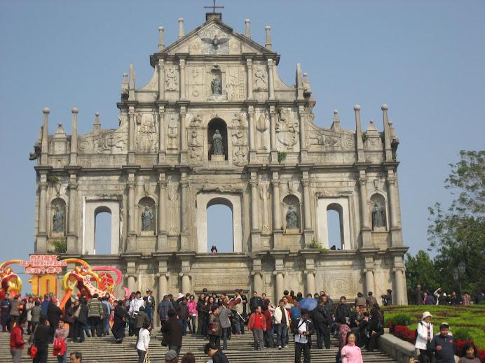 ~ Ruins of St Paul, Macau ~