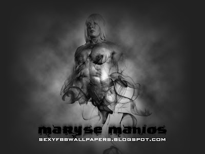 Maryse Manios 1024 by 768 wallpaper
